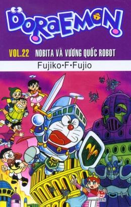 Doraemon - Vol.22 - Nobita Và Vương Quốc Robot