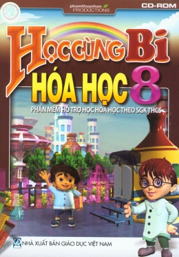 Học Cùng Bi - Hóa Học 8 - Phần Mềm Hỗ Trợ Học Hóa Học Theo SGK THCS (CD)