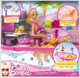 Đồ Chơi Búp Bê Barbie - Barbie Puppy Swim School (T2706)