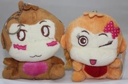 Thú Bông Chìa Khóa - Cặp Khỉ Yoyo Shish (28121103)