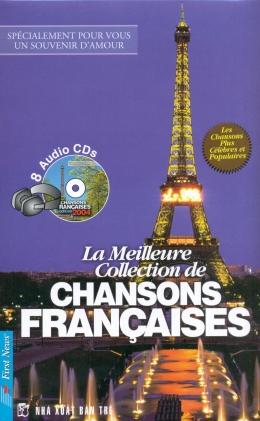 Tuyển Tập Những Ca Khúc Tiếng Pháp Hay Nhất Mọi Thời Đại - La Meilleure Collection De Chansons Francaises (Kèm 8 CD)