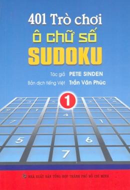 401 Trò Chơi Ô Chữ Số Sudoku - Tập 1