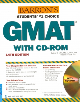 Barron Students' #1 Choice GMAT With CD - Rom (Kèm 1 CD)