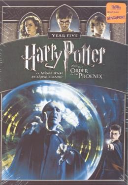 DVD Harry Potter Và Mệnh Lệnh Phượng Hoàng - Phim Mỹ