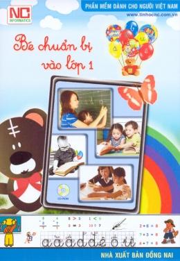 CD Phần Mềm Dành Cho Người Việt Nam - Bé Chuẩn Bị Vào Lớp 1