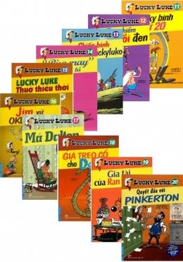 Bộ Lucky Luke - Tuyệt Phẩm Truyện Tranh Được Yêu Thích Nhất Mọi Thời Đại (Tập 11 Đến 20)