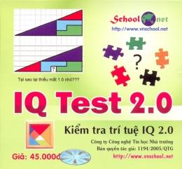 Phần Mềm IQ Test 2.0 - Kiểm Tra Trí Tuệ IQ 2.0