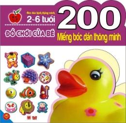 200 Miếng Bóc Dán Thông Minh - Đồ Chơi Của Bé (2-6 Tuổi)