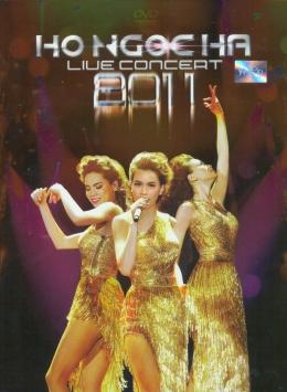 DVD Live Concert 2011 - Hồ Ngọc Hà (Gồm 2 DVD)
