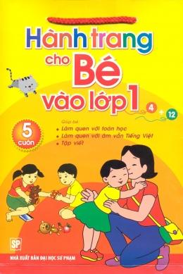 Bộ Túi Hành Trang Cho Bé Vào Lớp 1 (Bộ 5 Cuốn)