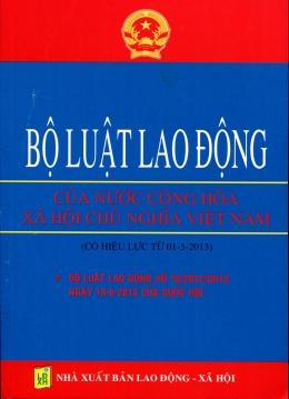 Bộ Luật Lao Động Của Nước Cộng Hòa Xã Hội Chủ Nghĩa Việt Nam