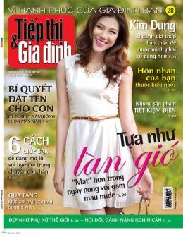 Tiếp Thị & Gia Đình - Số 28 (Tháng 7/2012)