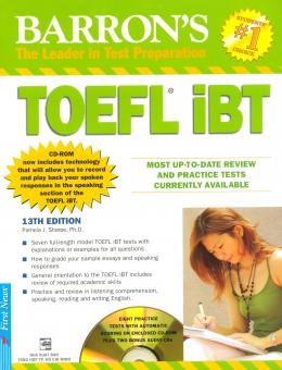 Barron's TOEFL iBT 13Th Edition (Kèm 3 CD)