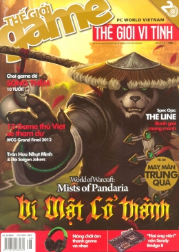 PC World - Thế Giới Vi Tính - Thế Giới Game - Số 105 (Tháng 8-2012)