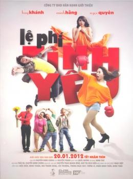 DVD Lệ Phí Tình Yêu (Phim Việt Nam)