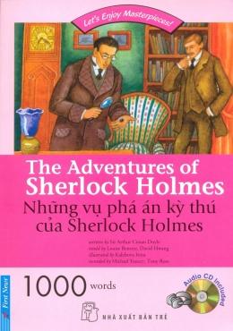 Những Vụ Phá Án Kỳ Thú Của Sherlock Holmes (Kèm 1 CD)