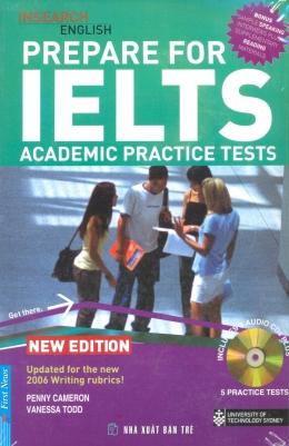 Prepare For IELTS - Academic Practice Tests (Kèm 3 CD)