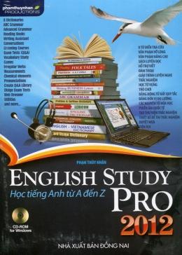 CD-ROM English Study Pro 2012 - Học Tiếng Anh Từ A Đến Z