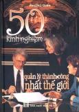 50 Kinh Nghiệm Quản Lý Thành Công Nhất Thế Giới