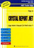 .Net Toàn Tập - Tập 6: Lập Trình Báo Cáo Dùng Crystal Reports. Net Và C# - Lập Trình Visual C# Thế Nào? (Sách Tự Học)