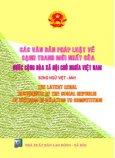 Các Văn Bản Pháp Luật Về Cạnh Tranh Mới Nhất Của Nước Cộng Hoà Xã Hội Chủ Nghĩa Việt Nam ( Song Ngữ Việt - Anh )