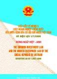 Luật Đầu Tư Chung Và Luật Doang Nhiệp Thống Nhất ( Có Hiệu Lực Từ 01/07/2006 - Song Ngữ Việt - Anh )