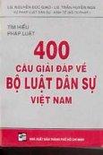 400 câu giải đáp về Bộ luật Dân sự Việt Nam