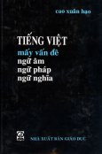 Tiếng Việt Mấy Vấn Đề Ngữ Âm Ngữ Pháp Ngữ Nghĩa