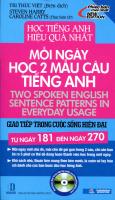 Mỗi Ngày Học 2 Mẫu Câu Tiếng Anh  - Giao Tiếp Trong Cuộc Sống Hiện Đại (Từ Ngày 181 Đến Ngày 270)