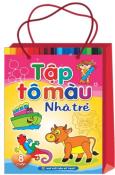 Bộ Túi Tập Tô Màu Nhà Trẻ (Túi 8 Cuốn)