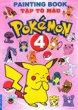 Tập Tô Màu Pokémon - Tập 4 - Tái bản 2014