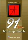 91 Điều Dành Cho Người Thành Đạt