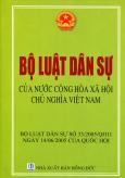 Bộ Luật Dân Sự Của Nước Cộng Hòa Xã Hội Chủ Nghĩa Việt Nam - Tái bản 05/2014