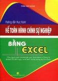 Hướng Dẫn Thực Hành Kế Toán Hành Chính Sự Nghiệp Bằng Excel