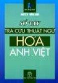 Sổ Tay Tra Cứu Thuật Ngữ Hoá Anh - Việt