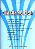 Chính Sách Thuế Mới 2007 (Bìa Xanh)