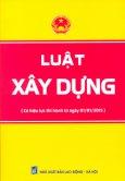 Luật Xây Dựng - Tái bản 08/2014