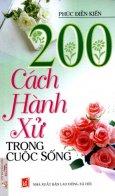 200 Cách Hành Xử Trong Cuộc Sống