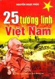 25 Tướng Lĩnh Việt Nam