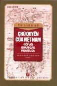Chủ Quyền Của Việt Nam Đối Với Quần Đảo Hoàng Sa
