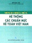 Những Quy Định Cụ Thể Về Hệ Thống Các Chuẩn Mực Kế Toán Việt Nam