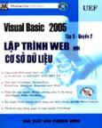 Visual Basic 2005 Tập 3, Quyển 2: Lập Trình Web Với Cơ Sở Dữ Liệu (Kèm CD Bài Tập)