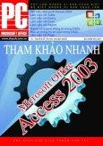 Microsoft Access 2003 - Tham Khảo Nhanh