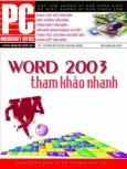 Word 2003 - Tham Khảo Nhanh