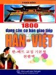 1800 Dạng Câu Cơ Bản Giao Tiếp Hàn - Việt