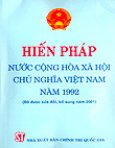 Hiến Pháp Nước Cộng Hoà Xã Hội Chủ Nghĩa Việt Nam Năm 1992