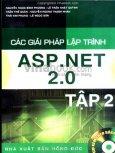 Các Giải Pháp Lập Trình ASP.NET 2.0 - Tập 2 (Dùng Kèm Đĩa)