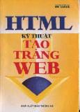 HTML kỹ thuật tạo trang Web
