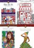 Combo Sách Tô Màu Dành Cho Người Lớn: Hoa Thời Trang (Bộ 4 Cuốn)