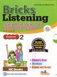 Bricks Listening Beginner - Tập 2: Luyện Nghe Tiếng Anh Dành Cho Học Sinh (Kèm 1 CD)